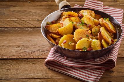 Schinken Bratkartoffel