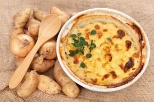 Kartoffel Nudel Auflauf