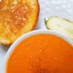 frische Tomatensuppe