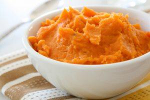 Süßkartoffelpüree