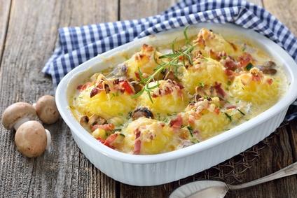 Kartoffelknödel Auflauf