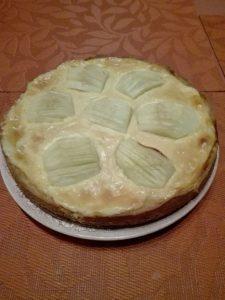 Pudding Apfelkuchen