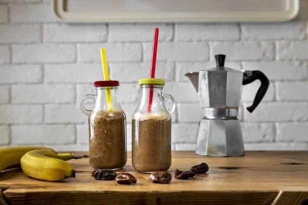 Kaffee Bananen Smoothie