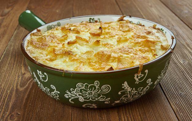 klassischer Kartoffelauflauf