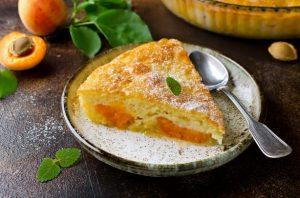 Omas Pfirsich Kuchen
