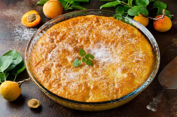 Omas saftiger Pfirsich Kuchen