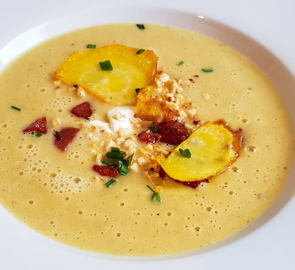 gelbe Bete Suppe