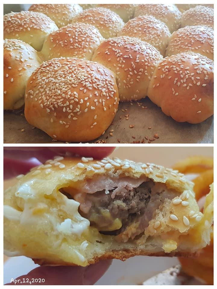 Bacon Cheeseburger Dough Balls