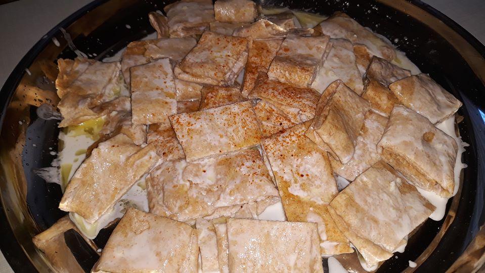 Brot vom Blech mit Buttermilch