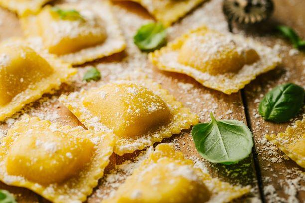 Echte italienische Ravioli