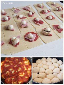 Pizzateilchen