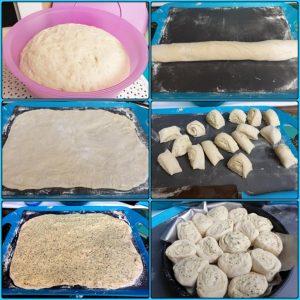 Zubereitung Kräuterbutter Schneckchen Zupfbrot