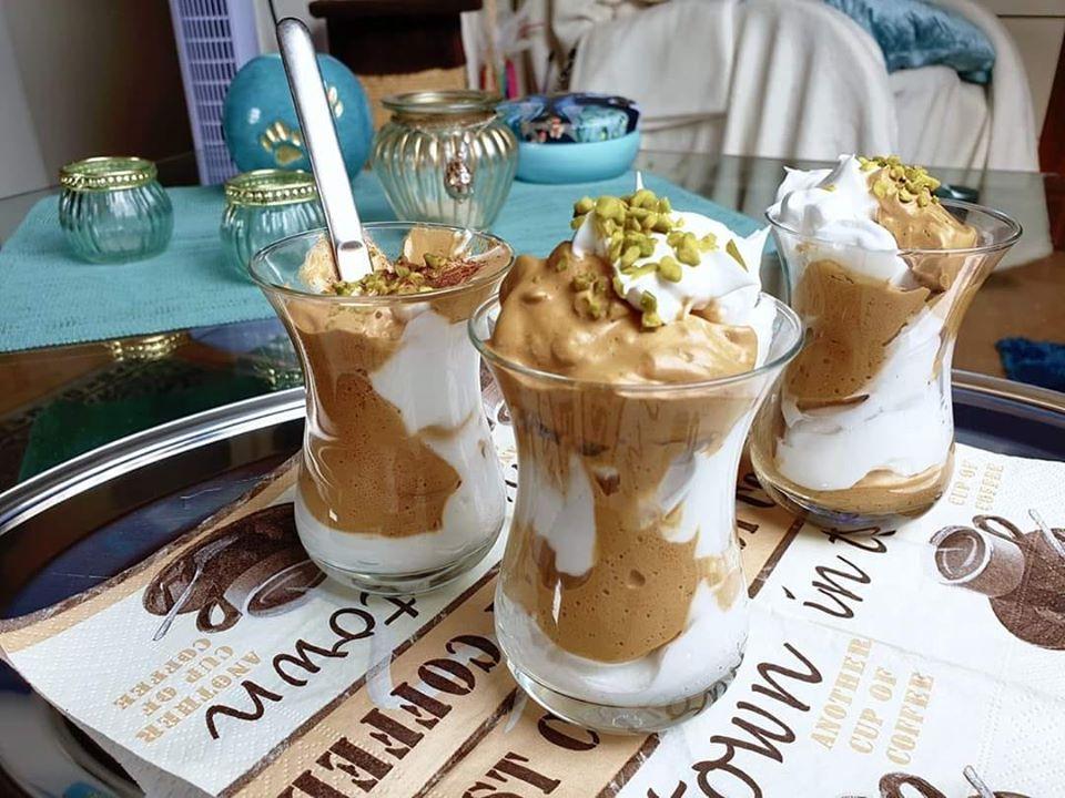 Dalgona Schaumkuss Dessert