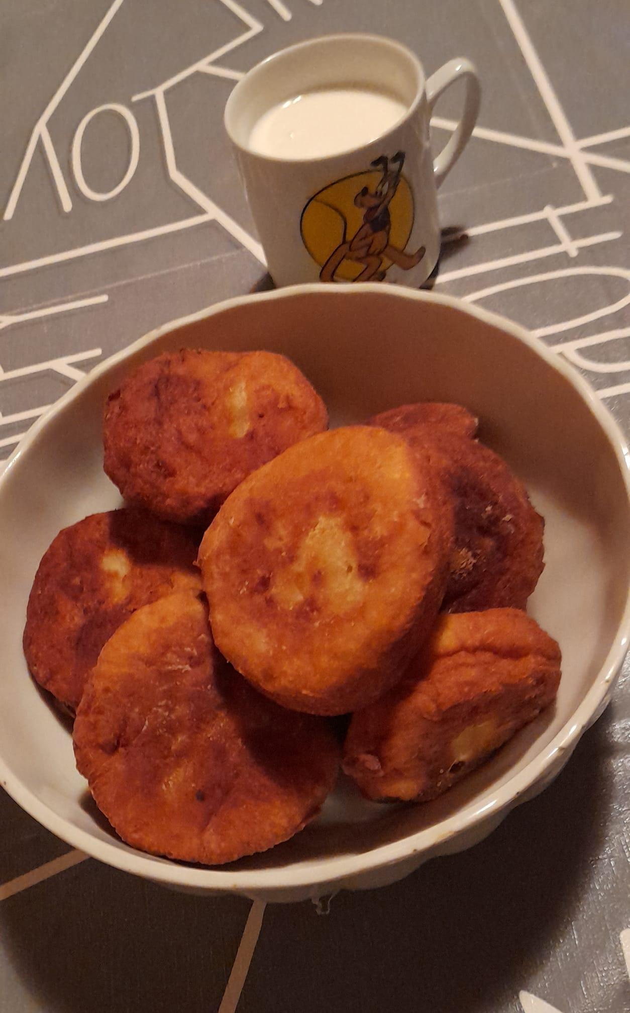 Kartoffeltaler aus Kartoffelbrei