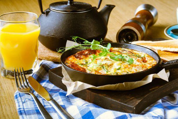 Bauernfrühstück mit Salsa
