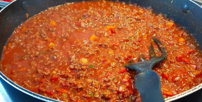 Die echte Spaghetti Bolognese