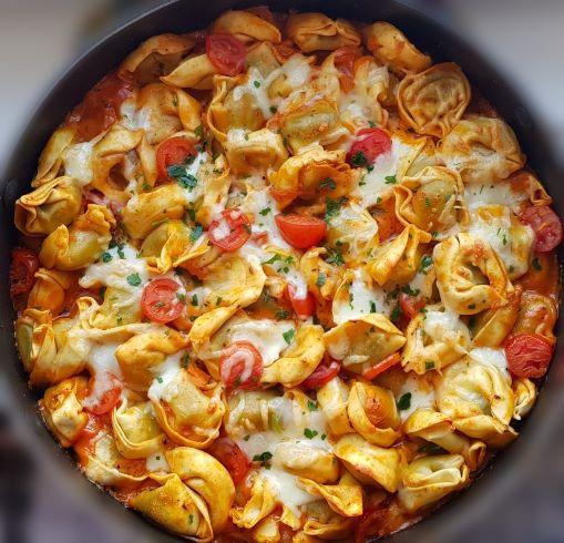Tomaten Mozzarella Auflauf
