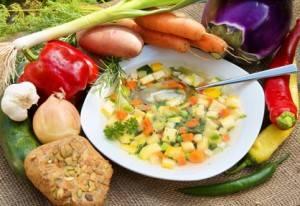 Platz 1Omas Gemüsesuppe
