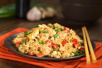 Platz 7 Reisgerichte