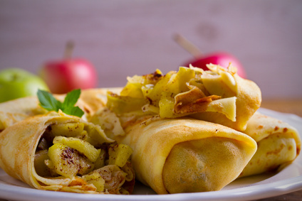 Apfel Crepes