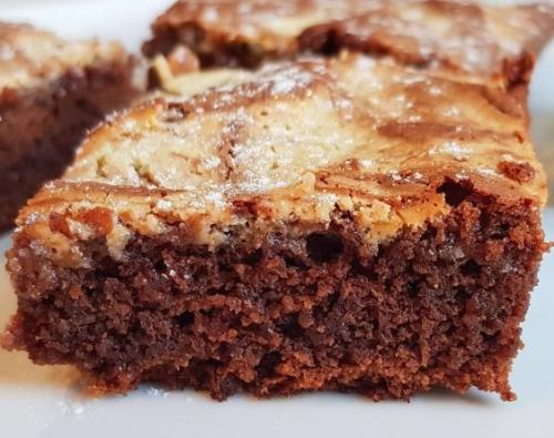 Baileys Cheesecake Brownies