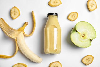 Bananen Apfel Smoothie