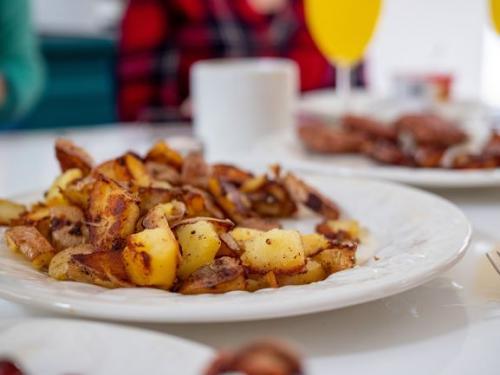 Bratkartoffeln mit Wurst