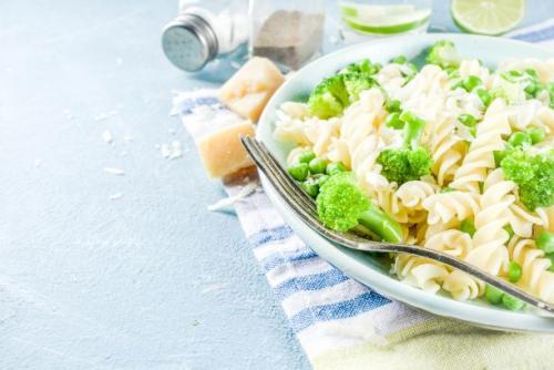 Brokkoli Pasta mit Zitronengeschmack