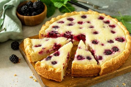 Brombeer Schmand Kuchen