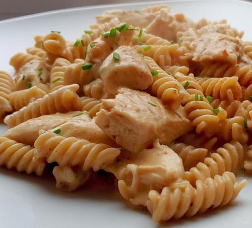 Creamy Ranch Chicken Pasta