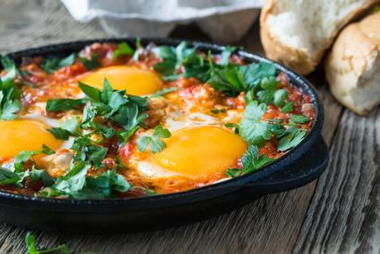 Omas beste Rezepte mit Eier