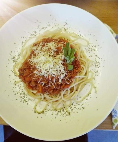 Einfache Spaghetti Bolognese