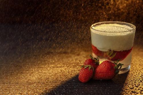 Erdbeer Joghurt Mousse
