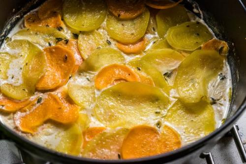 Französischer Kartoffelauflauf
