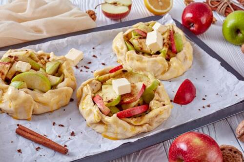 Galette mit Äpfel
