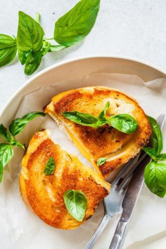 Gebratener Käse Sandwich