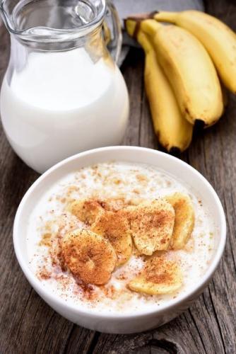 Haferschleim zum Frühstück