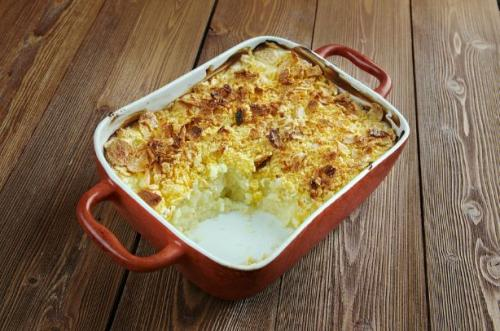 Käse Kartoffelauflauf