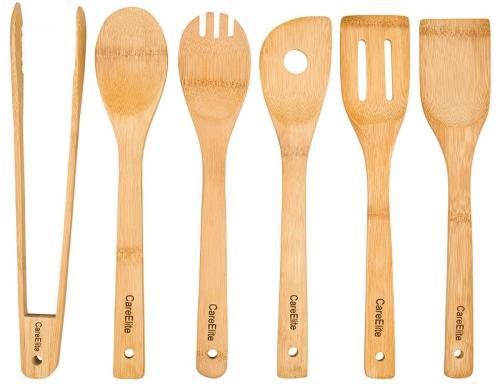 Küchenhelfer aus Bambus Holz