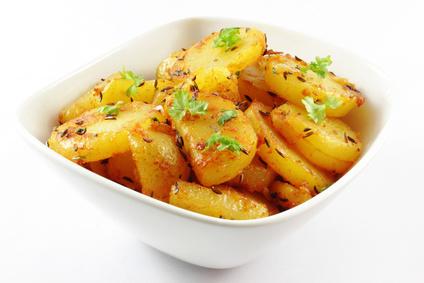 Knusprige Bratkartoffeln mit Petersilie und Kümmel