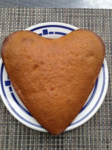 Karottenkuchen-Herzkuchenform