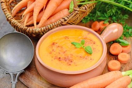 Karotten Joghurt Suppe