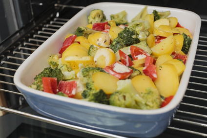 Platz 10 Kartoffelauflauf mit Gemüse