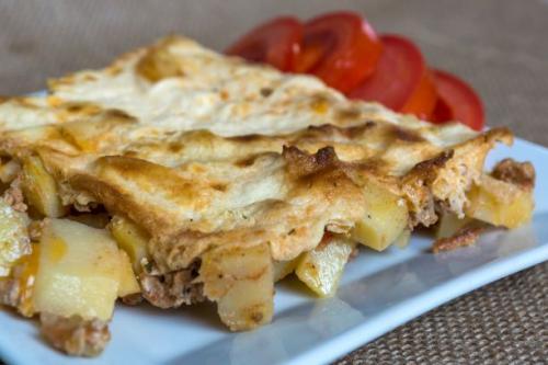 Kartoffelpfanne mit Hackfleisch