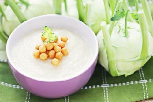 Kohlrabi Cremesuppe