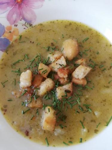 Kohlrabi-Kartoffelsuppe