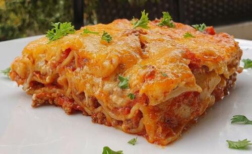 Leckere Lasagne