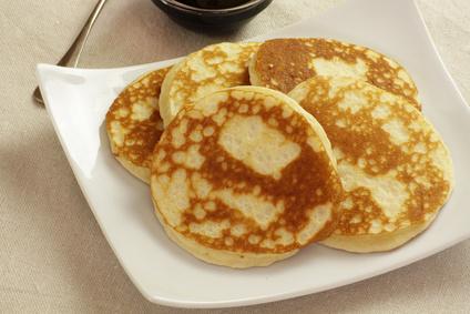 Pancakes mit Käse