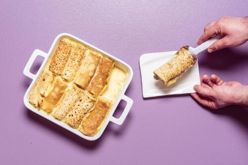 Pfannkuchen Auflauf