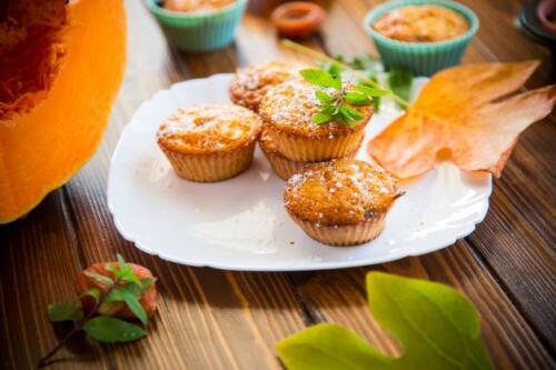 Süße Kürbis Muffins